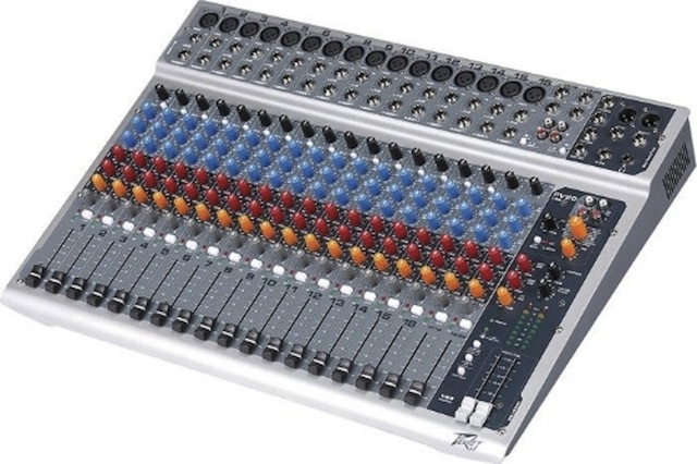 Peavey PV20 USB 20-Channel Recording Mixer with USB and DSP Effects