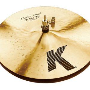 "Demo Zildjian 14"" K Custom Dark Hi Hat Pair"